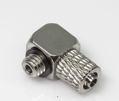 Vinkel kobling m/3 mm gevind