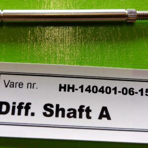 Differentiale shaft A