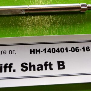 Differentiale shaft B