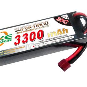 Li-Po batteri 7,4 volt 2 celler hardcase 3300 mAh